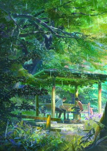 Сад изящных слов HD Kotonoha no Niwa