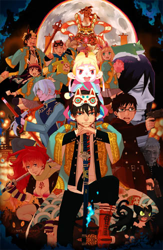 Gekijouban Ao no Exorcist