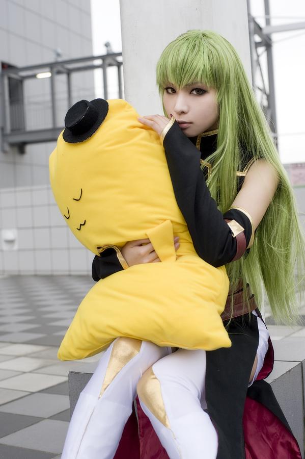 Cosplay: C.C. by Kanda Midori